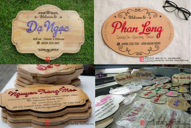 Làm bảng gỗ tên shop cho khách hàng tại Đồng Tháp, Điện Biên, Lai Châu, Sơn La, Hà Giang, Hà Nam, Ninh Bình, Quảng Ngãi, Bình Định, Nha Trang, Khánh Hòa