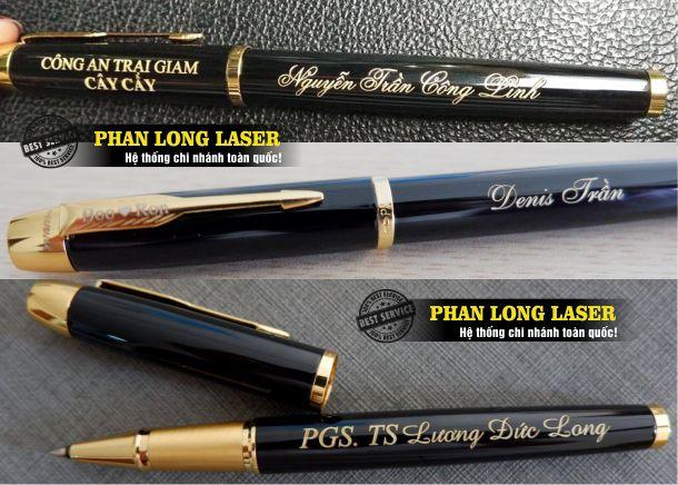Cửa hàng nhận khắc bút, khắc chữ khắc tên khắc logo lên bút viết theo yêu cầu giá rẻ tại Tp Hồ Chí Minh, Sài Gòn, Hà Nội, Đà Nẵng và Cần Thơ