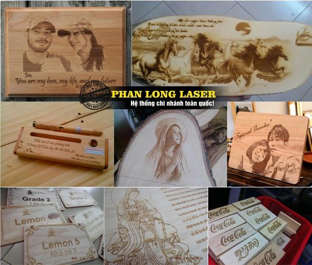 Địa chỉ Khắc Gỗ bằng Laser tại Thanh Khê, Hải Châu, Liên Chiểu Đà Nẵng