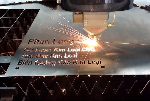 Địa chỉ xưởng cắt kim loại inox đồng nhôm sắt thép bằng laser