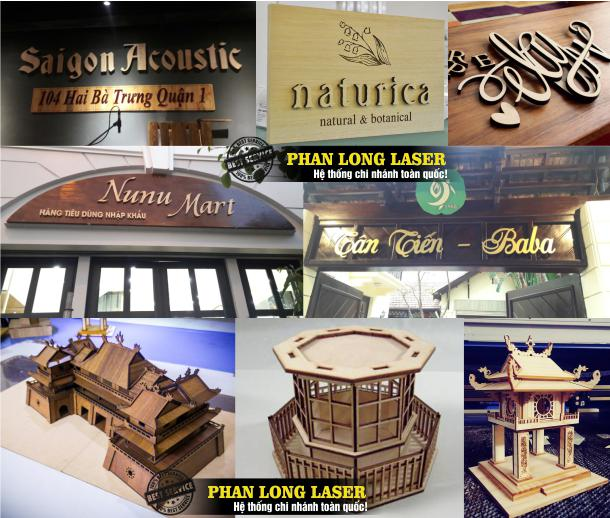 Địa chỉ Cơ sở chuyên nhận cắt gỗ laser, cắt chữ gỗ, cắt hoa văn tạo hình trên gỗ tại Quận 8 Quận 10 Sài Gòn