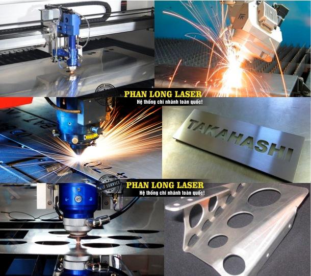 Xưởng gia công cắt laser theo yêu cầu lên kim loại inox đồng nhôm sắt thép giá rẻ