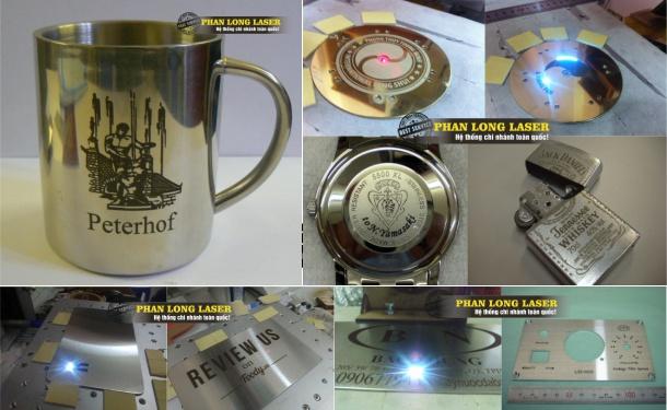 Địa chỉ Cắt Khắc Laser trên Inox, Kim Loại, Đồng Nhôm tại Hà Nội, Đà Nẵng, Sài Gòn