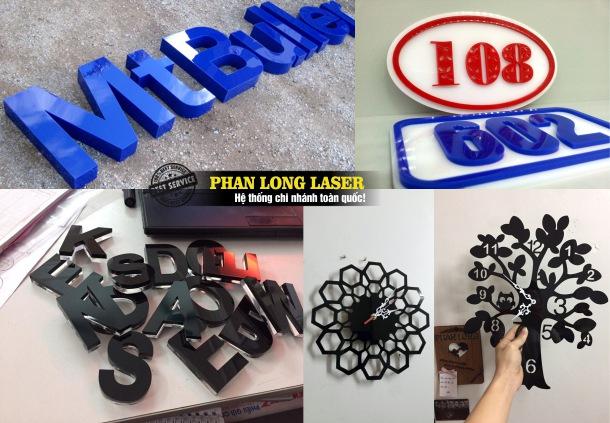 Cơ sở chuyên nhận cắt mica, cắt nhựa, cắt chữ mica bằng nhiệt laser theo yêu cầu giá rẻ