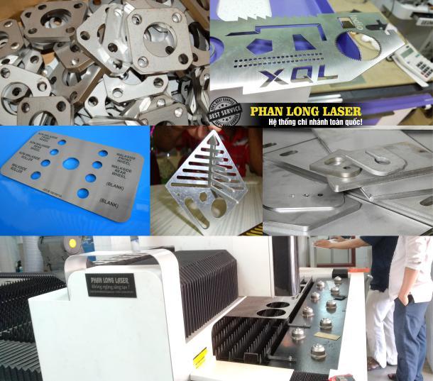 Cửa hàng chuyên nhận cắt laser kim loại, cắt đồng nhôm sắt thép bằng máy laser giá rẻ tại Tphcm Sài Gòn