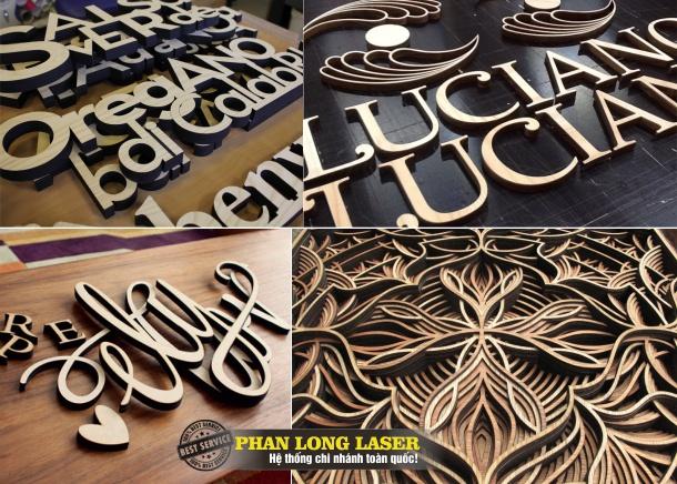 Địa chỉ Cắt Khắc Gỗ, Gia công gỗ bằng Laser TPHCM, HN, Đà Nẵng