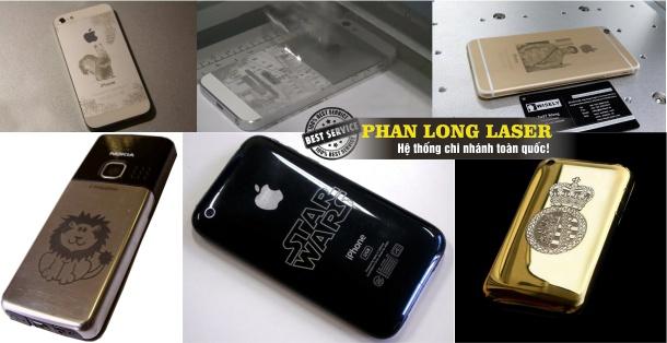 Địa chỉ Khắc Điện Thoại bằng Laser tại Đà Nẵng, Sài Gòn, Hà Nội & Cần Thơ