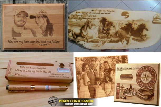 Khắc ảnh bằng laser trên gỗ tại TPHCM, Sài Gòn, Đà Nẵng, Hà Nội
