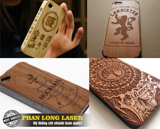 Khắc Hình Ảnh, Khắc Logo lên điện thoại bằng Laser tại Sài Gòn HCM Cần Thơ