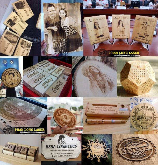 Cơ sở nhận khắc hình ảnh chân dung lên gỗ, khắc logo thư pháp lên gỗ tại Bắc Từ Liêm Hà Nội