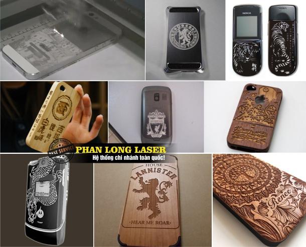 Điêu Khắc nghệ thuật trên điện thoại bằng laser tại Đà Nẵng
