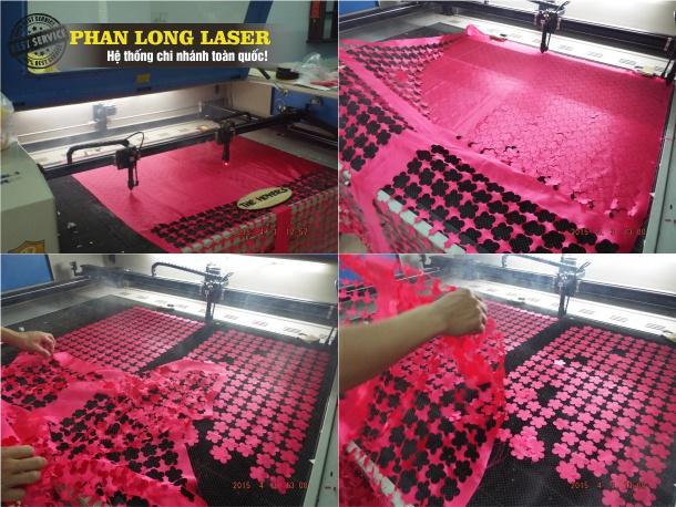 Khắc vải bằng laser, cắt vải bằng tia Laser tại Sài Gòn, Đà Nẵng, Hà Nội