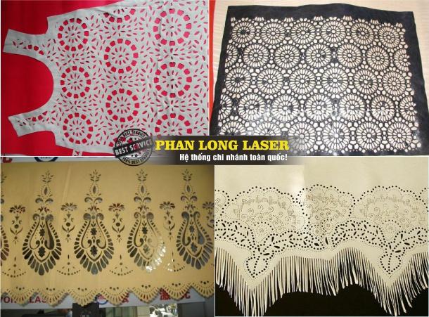 Khắc laser trên vải, Cắt vải bằng tia laser tại Sài Gòn, Đà Nẵng, Hà Nội