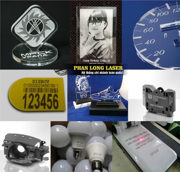 Địa chỉ xưởng gia công in khắc laser, in khắc thông số kỹ thuật, khắc logo theo yêu cầu lên nhựa mica cao su giá rẻ