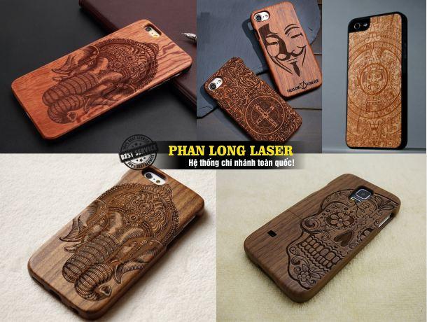 Địa chỉ khắc quà tặng vỏ điện thoại gỗ bằng laser tại Tphcm Sài Gòn, Hà Nội, Đà Nẵng và Cần Thơ
