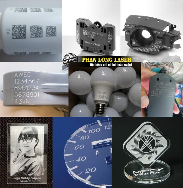 Địa chỉ cơ sở chuyên nhận khắc logo, khắc mã vạch, khắc thông số kỹ thuật lên nhựa và mica tại Quận 8 quận 10 Sài Gòn